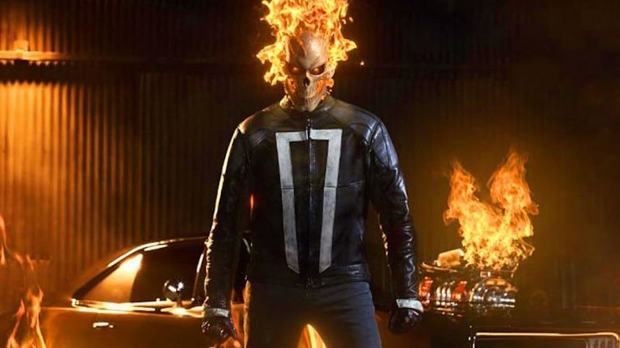 GHOST RIDER PROMISES TO HEAT UP AGENTS OF S.H.I.E.L.D.